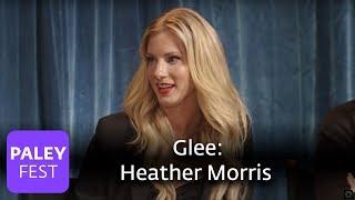 Glee - Heather Morris On Britney Spears Vs. Ke$ha