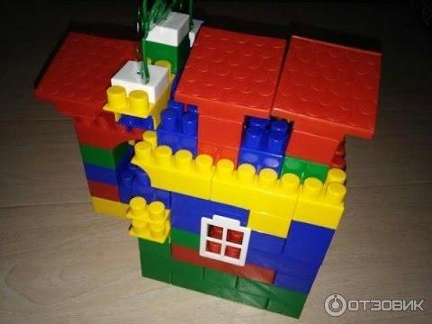 Делаем домик из конструктора для Фиксиков. Что построить из детского конструктора.