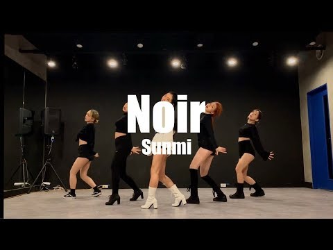 [Noir Challenge]  선미(SUNMI) - 누아르(Noir) 창작안무 영상/거울모드/누아르 안무영상/choreo By Waack-B/noirchallenge