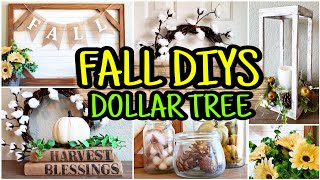 Fall Dollar Tree DIY � Fall DIY Farmhouse Decor