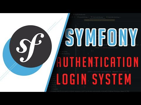 Symfony 3: Authentication (Login page) Tutorial
