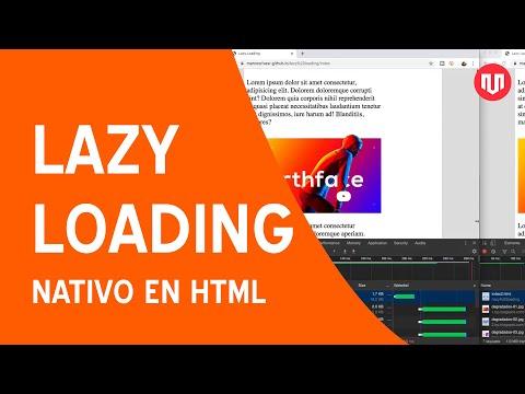 Lazy loading nativo en HTML5 thumbnail