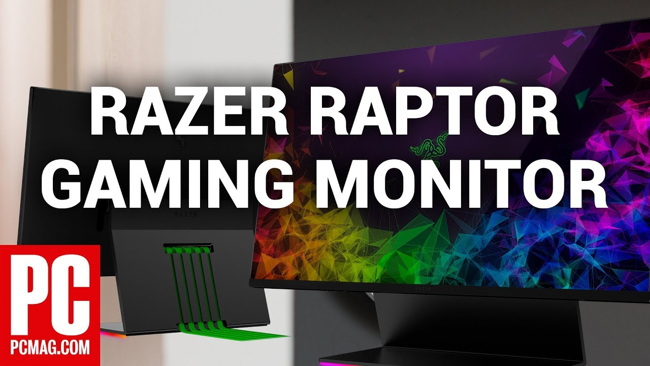 Hands On With Razer Raptor Gaming Monitor