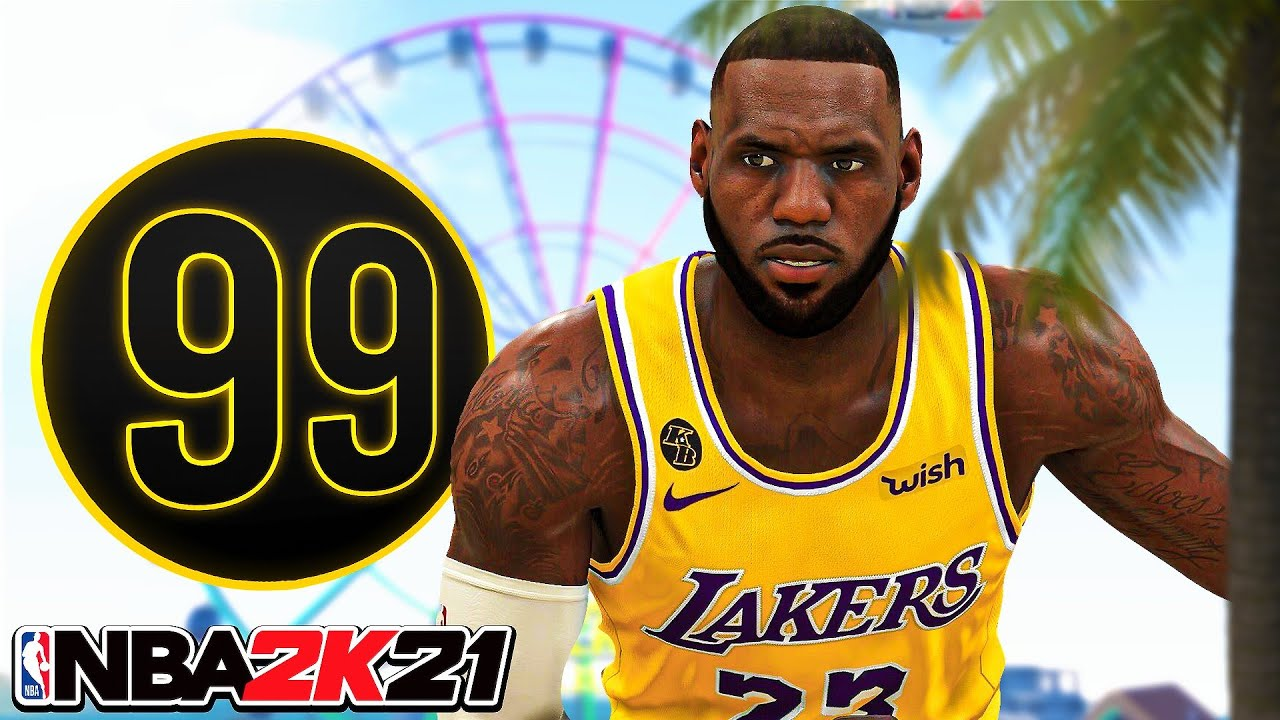 99 OVR LEBRON JAMES BUILD in NBA 2K21...