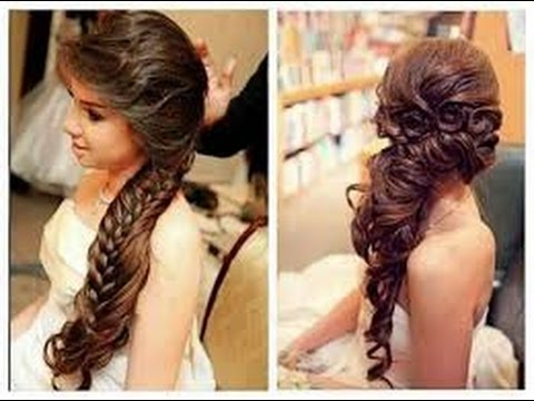wedding hairstyles for thin hair - YouTube