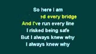 Kris Allen   No Boundaries Karaoke flv
