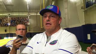 Florida defensive coordinator Todd Grantham discusses the Gators' first few spring practices