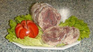 Что приготовить с говяжьей голяшки. Бульон или холодную закуску.
