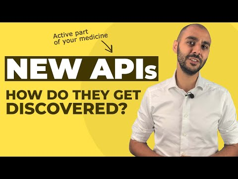 How are the active ingredients of your medicine made? Let's talk about the discovery of APIs