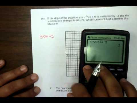 James Madison Algebra Final Review 2nd Semester