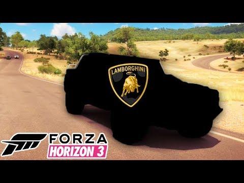 FORZA HORIZON 3 - A LAMBORGHINI SECRETA!!!