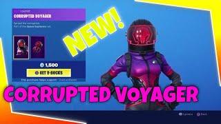 Fortnite Item Shop Right Now *NEW* Corrupted Voyager Skin! New Item Shop Fortnite Battle Royale ☣️☣️