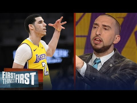 Nick Wright unveils the key change Lonzo made that will quiet his haters | FIRST THINGS FIRST