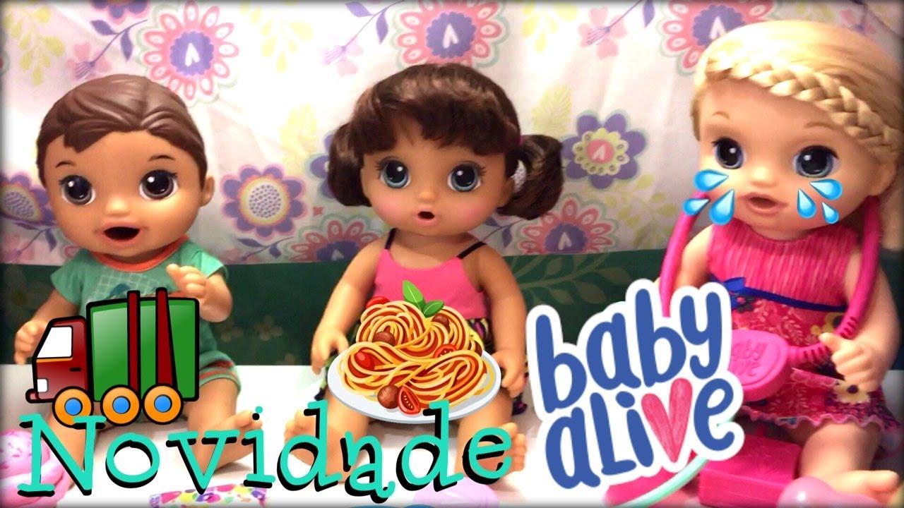 Baby Alive Lan 199 Amento Novas Bonecas 2017 Hasbro Peter Toys