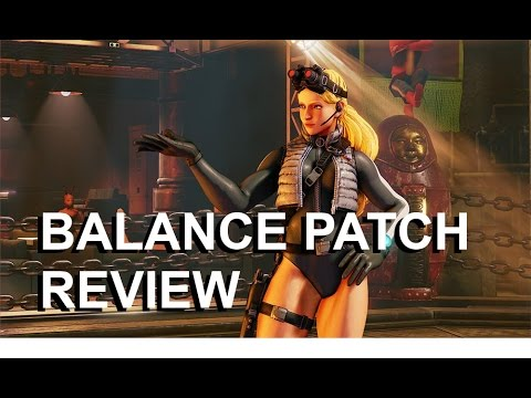 My Review of the Upcoming Balance Patch for Street Fighter V