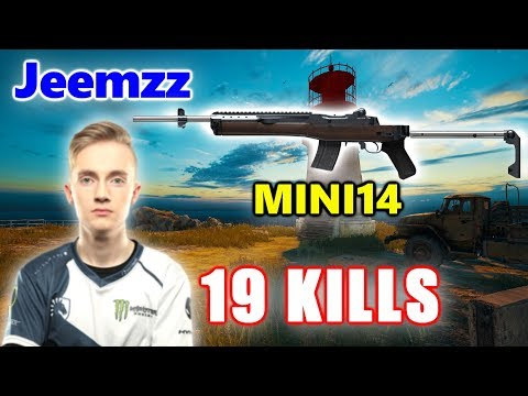 PUBG - Team Liquid Jeemzz - 19 KILLS - MINI14 - SOLO Vs SQUADS
