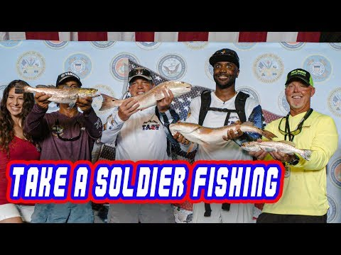 Take A Soldier Fishing Tournament With Captain Rick Murphy