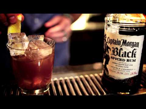 Captain Morgan Black Spiced Rum #1