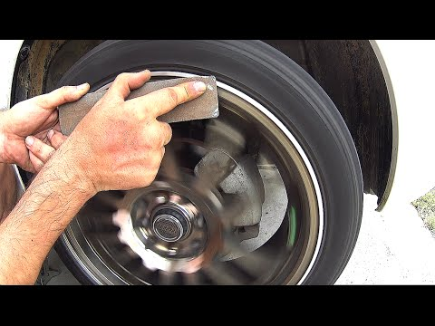 How to fix deep scratches on alloy wheels at home easily and quickly, how to fix, how to repair