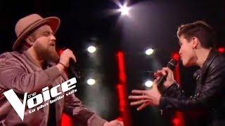 Johnny Hallyday - Toute la musique que j'aime | Aurélien vs Raffi Arto | The Voice France 2018...