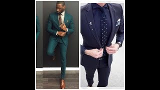 New Designer Suits For Men #Men Weding Suit #Coat pant designs//Groom Outfit,suits,coats 2017