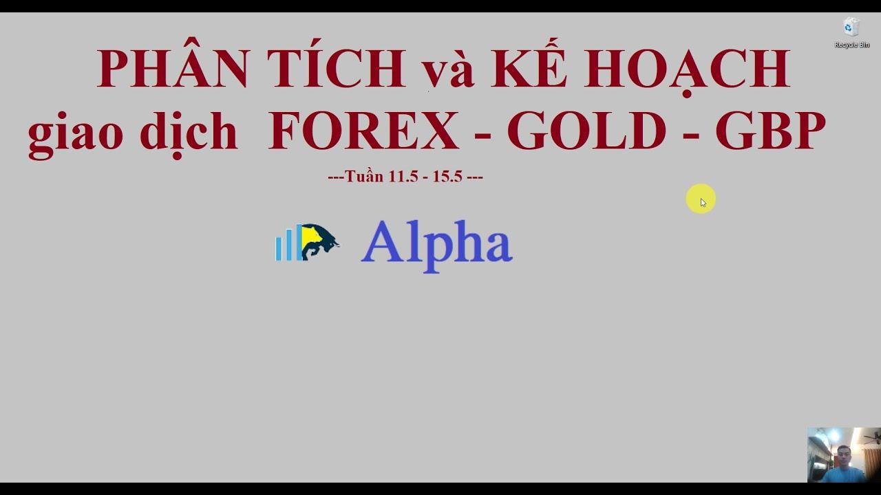 Forex – Trade & Share : Phân Tích Forex, Vàng – Gold , GBP tuần 11.5.2020