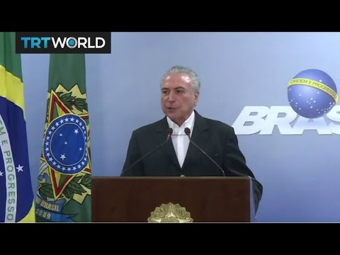 Brazil Corruption: Michel Temer accused of taking huge bribes