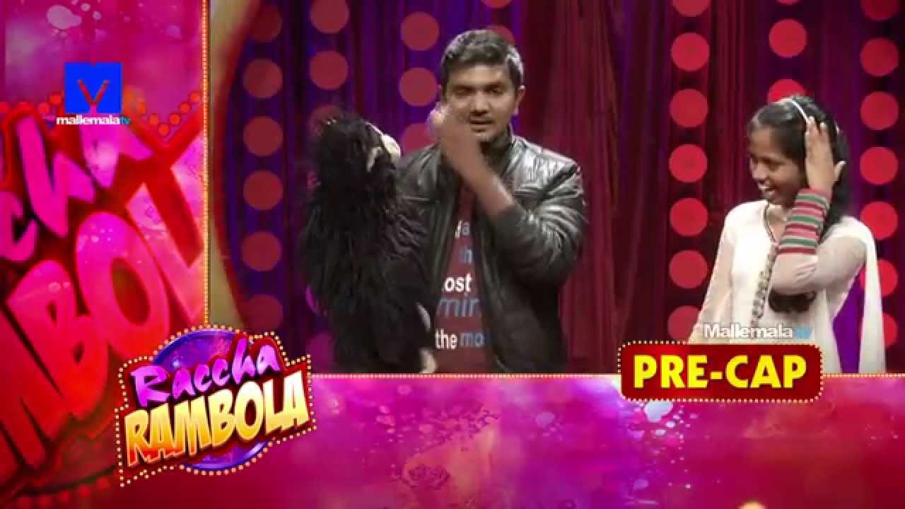 Raccha Rambola Stand up Comedy Show - Epi 01 - Jabardasth Venky with monkey