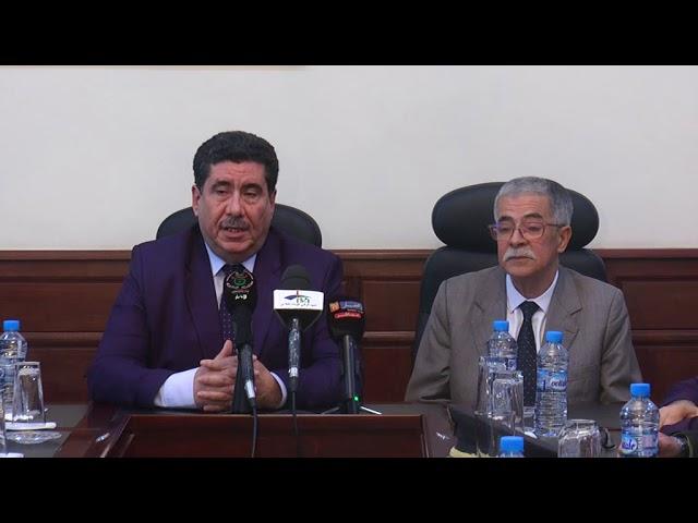 مراسيم تنصيب الاستاذ فؤاد شحات وزيرا منتدبا للفلاحة الصحراوية والجبلية 04 جانفي 2020