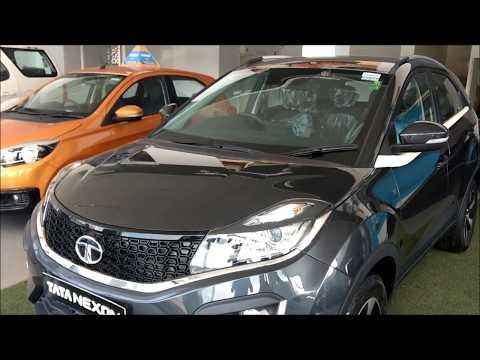 Tata Nexon Glasgow Grey Color Interior and Exterior Walkaround !!