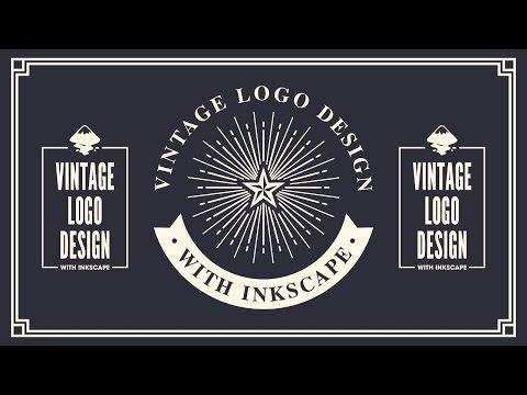 Inkscape Tutorial: Vintage Logo Design