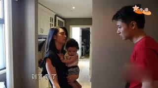 哥哥提前回香港,妈妈洪欣十分担心,有爱一家人