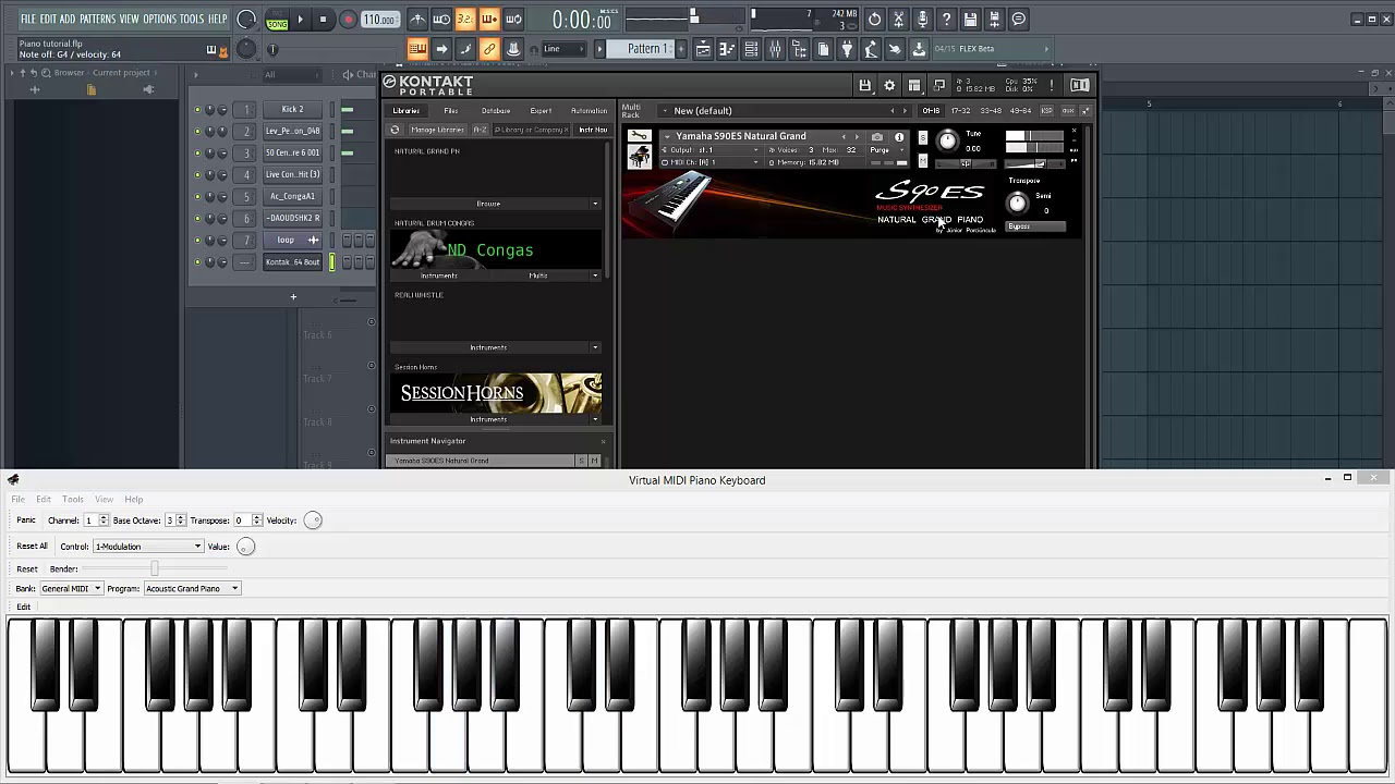 Afrobeat Piano Chords | Progression & Melody Tutorial FLP