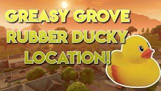 Fortnite Greasy Grove Rubber Ducky Location!!