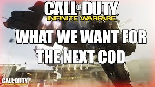 angry cod fan reacts to infinite warfare trailer what the cod community want for call of duty