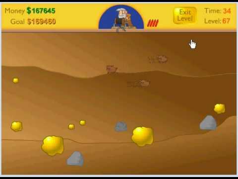 Gold miner highest score level 67 - YouTube