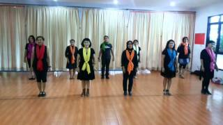 Volare linedance (Frank Trace) danced by RnF Thursday class