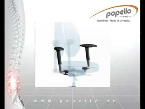 popello - orthopädische Stühle - ergonomisch Sitzen - YouTube