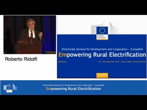 Empowering Rural Electrification Workshop - Day 1 - Session 1