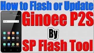 Download How To Flashing Gionee P5w 100 All Ok Videos - Dcyoutube