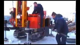 Буровая установка БС 50 'Крот' на гусеничном ходу
