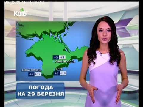 Телеканал Київ: Погода на 29.03.18