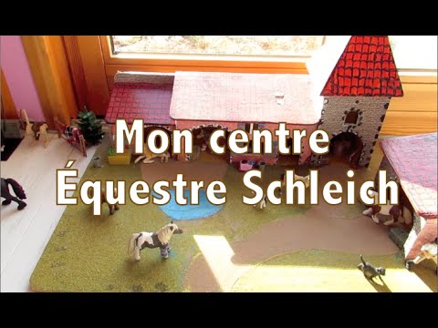 mon centre questre schleich pr sentation youtube. Black Bedroom Furniture Sets. Home Design Ideas