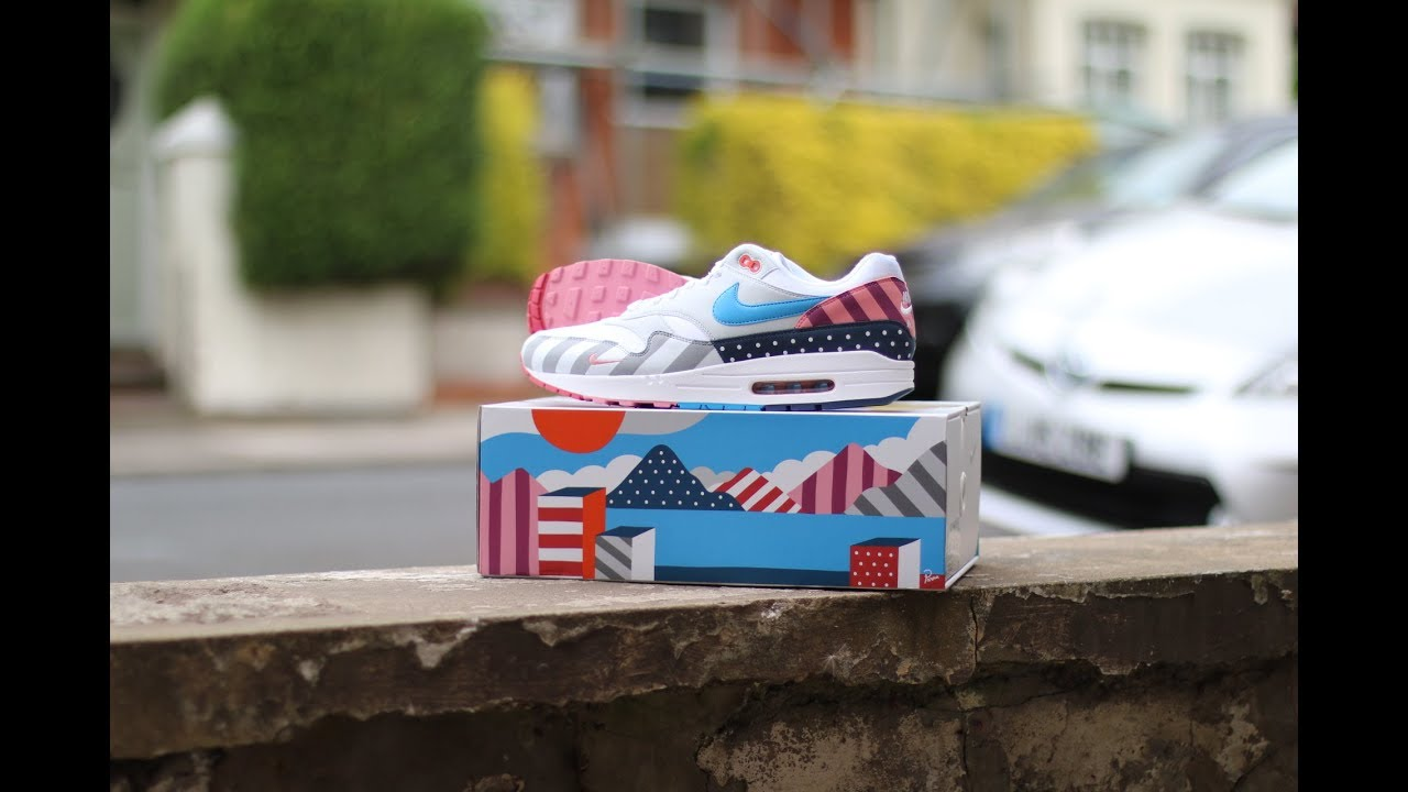 more photos 0cdab bd7ad QuickSchopes 030 - Nike Air Max 1 Parra 2018 - Schopes