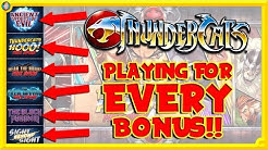 Thundercats Slot Challenge 🐯 Can I get ALL of the BONUSES??