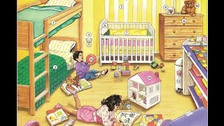 Oxford dictionary | Lesson 33: A Children's Bedroom | Learn English | Oxford picture dictionary