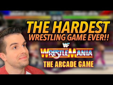 THE HARDEST WRESTLING GAME EVER!! | WWF WrestleMania: The Arcade Game