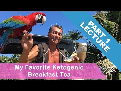 My Favorite Ketogenic Breakfast Tea Part 1   Mini Lecture   Dr. Robert Cassar