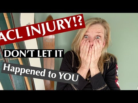 AVOID ACL INJURY when skiing... WATCH THIS!!