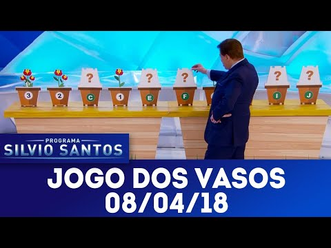 Jogo dos Vasos - Completo | Programa Silvio Santos (08/04/18)